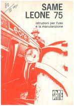 LEONE 75 - Libretto uso & manutenzione