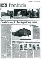 Castel Cerreto, il rilancio parte dai campi