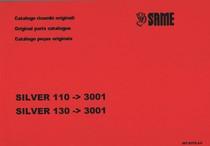 SILVER 110 ->3001 - SILVER 130 ->3001 - Catalogo ricambi originali / Original parts catalogue / Catalogo peças originais