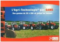 L'Agri - Technologie par Same - Une gamme de 30 ° 260 ch taillée sur mesure