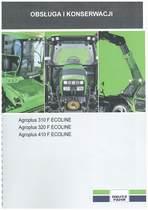 AGROPLUS S 310-320-410 ECOLINE - Instrukcja Uzytkownika
