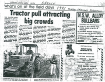 Tractor pull attracting big crowds