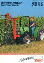 DX 3 V - F - DX 3.50 - 3.70 V Tracteurs Etroits