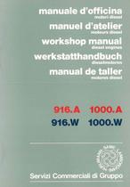 MOTORI - 916.A - 916.W - 1000.A - 1000.W - Manuale d'Officina