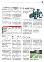 Agrotron TTV mit drei neuen Vierzylindern