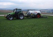 [Deutz-Fahr] trattore Agrotron 150 con carrobotte