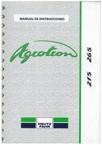 AGROTRON 215-265 - Uso y Mantenimiento