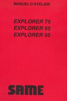 EXPLORER 75 - 85 - 95 - Manuel d'atelier
