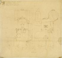 Complessivo motore - MIB 851 - Disegno 543