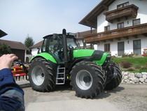 Consegna di un trattore Agrotron M 650