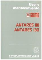 ANTARES 110 - ANTARES 130 - Uso y mantenimiento