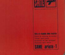 Trattore modello ARIETE T - Catalogo Parti di Ricambio / Catalogue de pièces de rechange / Spare parts catalogue / Ersatzteilliste / Lista de repuestos
