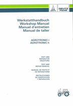 AGROTRONIC-i - AGROTRONIC-h - Werkstatthandbuch - Workshop manual - Manuel d'entretien - Manual de taller