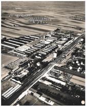[Ködel & Böhm] Vista aerea della fabbrica Ködel & Böhm di Lauingen