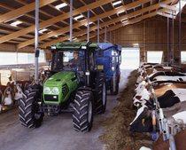 [Deutz-Fahr] trattore Agroplus 80 lavori in azienda