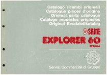 EXPLORER 60 SPECIAL - Catalogo Parti di Ricambio / Catalogue de pièces de rechange / Spare parts catalogue / Ersatzteilliste / Lista de repuestos