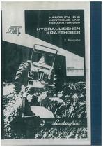 Handbuch fuer Kontrolle und Reparatur der Hydraulischen Kraftheber