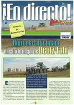 Agricola Extremena mostro lo mejor de Deutz-Fahr