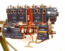 Motore 985 P sezionato