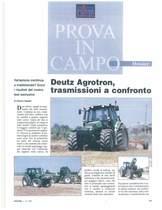 Deutz- Agrotron, trasmissioni a confronto