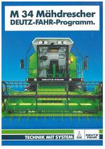 M 34 Mähdrescher DEUTZ-FAHR-Programm
