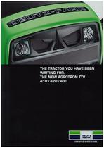 AGROTRON TTV 410 - 420 - 430