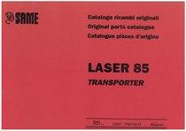 LASER 85 TRANSPORTER - Catalogo Parti di Ricambio / Spare parts catalogue / Lista de repuestos