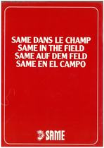 Same dans le champ/Same in the field/Same auf dem feld/Same en el campo