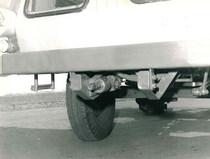 SAMECAR Agricolo - Particolare della presa di potenza anteriore