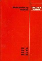 DX 85-90-110-120 - Bedienungsanleitung
