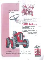 Same 240 - 42 cv - a 2 et 4 roues motrices