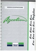AGROTRON K 90-100-110-120 / PROFILINE - Uso y Mantenimiento