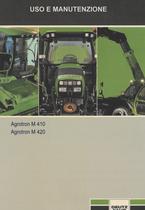 AGROTRON M 410 - AGROTRON M 420 - Uso e manutenzione