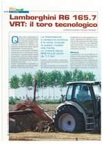 Lamborghini r6 165.7 VRT: il toro tecnologico