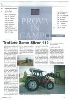 Trattore SAME Silver 110