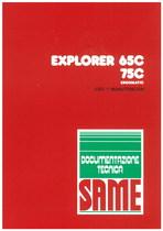 EXPLORER 65C - 75C ERGOMATIC - Uso y manutencion