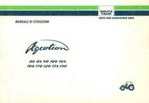 AGROTRON 80-85-90-100-105-106-110-120-135-150 - Libretto Uso & Manutenzione