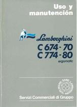 C 674-70 - C 774-80 ERGOMATIC - Uso y manutencion