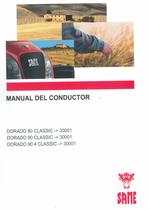 DORADO 80 CLASSIC ->30001 - DORADO 90 CLASSIC ->30001 - DORADO 90.4 CLASSIC ->30001 - Manual del conductor
