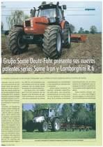 El grupo SAME Deutz-Fahr presenta sus nievas y potentes series SAME Iron y Lamborghini R.6
