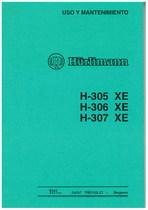 H 305 XE - H 306 XE - H 307 XE - Uso y Mantenimiento
