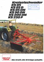 KREISELSCHWADER KS 85 - KS 85 D - KS 85 DN - KS 90 DN - KS 200 DN - KS 230 F