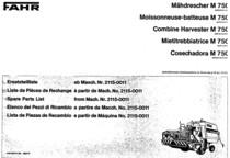 M 750 - Catalogo Parti di Ricambio / Catalogue des Pièces de Rechange / Spare Parts Catalogue / Catàlogo Piezes de Repuesto / Ersetzteilkatalog