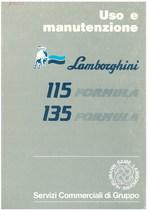 115 FORMULA -135 FORMULA - Libretto Uso & Manutenzione