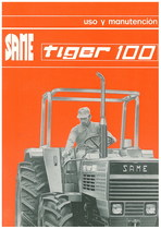 TIGER 100 - Uso y manutencion