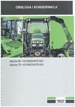 AGROLUX 60-70 - Instrukcja Uzytkownika