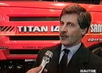 I trattori e i macchinari agricoli del Gruppo SAME Deutz-Fahr alla Fieragricola di Verona - Italia Agricoltura, Rai 3