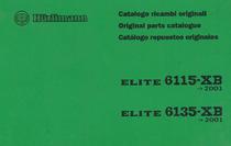 ELITE 6115 XB -> 2001 - ELITE 6135 XB -> 2001 - Catalogo ricambi originali / Original parts catalogue / Catalogo repuestos originales