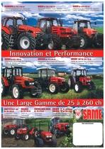 Innovation et Performance - Une Lage Gamme de 25 a 260 CH