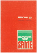 MERCURY 85 EXPORT - Utilisation et entretien
